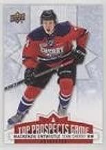 MacKenzie Entwistle (Hockey Card) 2017-18 Upper Deck CHL - Top Prospects Game #TP5