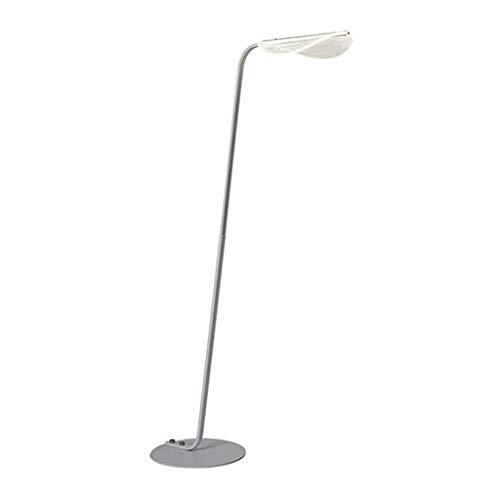 Lámpara de pie Vertical Simple Creativo de acrílico Hoja Pantalla LED de Sala de Estar Moderna lámpara de cabecera del Dormitorio Estudio de Lectura lámpara Regulable