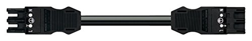 WAGO 771–9993/006–3013m schwarz-Kabel Signal–Kabel-Signal (3m, schwarz)