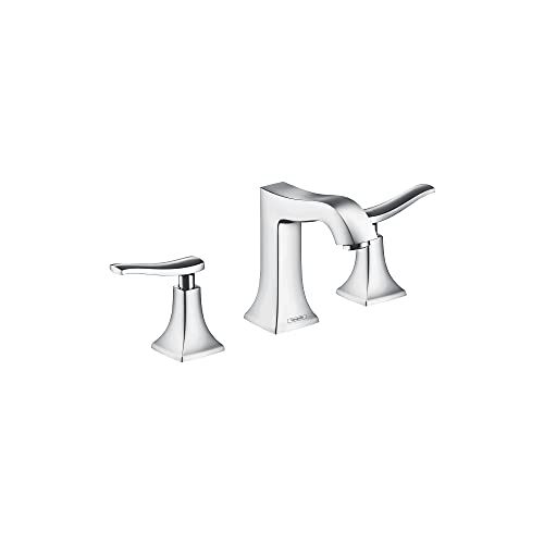 hansgrohe Metris C Classic Replacement Easy Clean 2-Handle 3 6-inch Tall Bathroom Sink Faucet in Chrome, 31073001