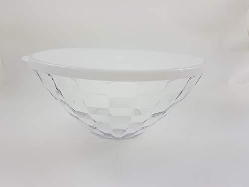 TW 1a Tupperware - Eleganzia Diamant Schüssel - 2L - klar