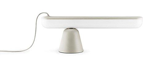 Norman Copenhagen Acrobat Lampe de table en plastique Sable 16,5 x 44,4 x 6 cm
