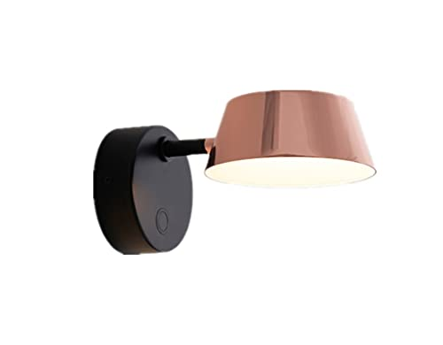 JZRHMJHW Apliques Pared,Lámpara de Escritorio LED,Lámpara de Pared giratoria Moderna Simple lámpara de Pared Creativa del Pasillo de la cabecera del Dormitorio de la Sala de Estar