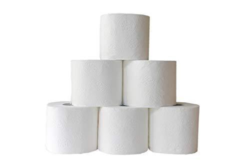 Toilettenpapier ISABELLA - 3-lagig - extra weich - weiss - PREMIUMQUALITÄT (144 Rollen)