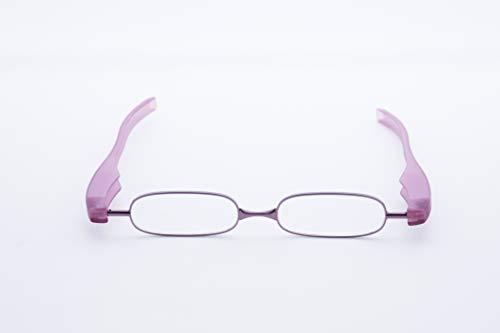 老眼鏡 シニアグラス ポッドリーダースマート Podreader smart 全10色(限定2色) 男性用 女性用(パープル、1.5)