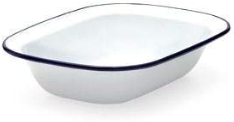 Falcon Enamel 22cm Oblong Pie Dish Pack Of 2