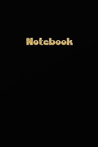 Notebook: Schwarzes - Black Notebook - Für meine Gedanken: Das besondere Einschreibbuch (Einschreibbücher)