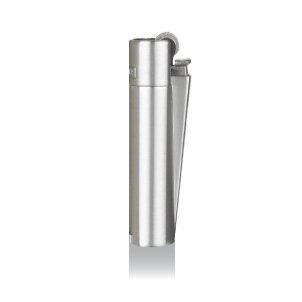 Clipper® Feuerzeug - Edition Metal Flint Micro - Steel Silver