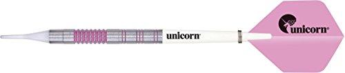 Unbekannt Unicorn Autograph Soft Dart Dartpfeile in rosa 19g