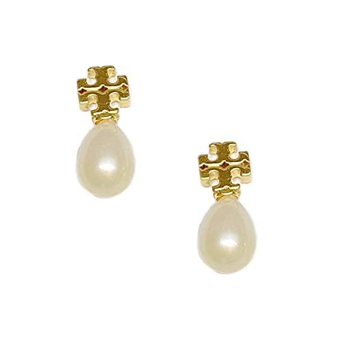 YFZCLYZAXET Pendientes Mujer Pendientes De Perlas De Moda Pendientes De Temperamento Pendientes Casuales De Moda-Oro