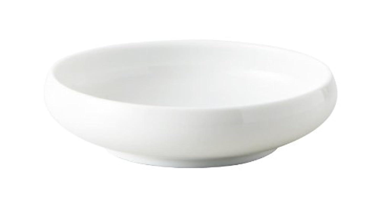 耐えられない洋服性能鉄鉢 21cm 白 (131541)