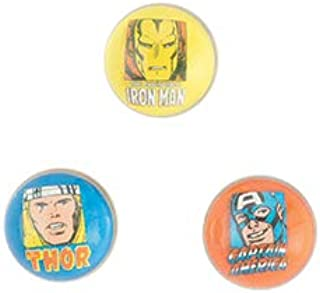SmileMakers 30mm Marvel Comics Bouncing Balls - Prizes 48 per Pack