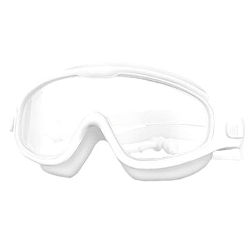 YWSZY Gafas Natacion, Gafas de natación de Gran Angular Transparentes Anti-Niebla y Gafas Anti-ultravioletas para niños con 4-15 niños (Color : Negro, Eyewear Size : Other)