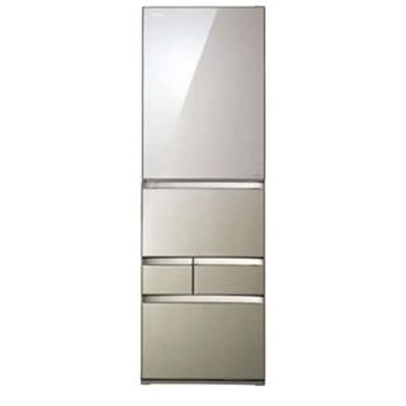主要な体メインGR-G43GXV-ZS 東芝 冷蔵庫 VEGETA 5ドア 426リットル クリアライトゴールド