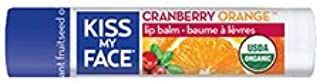 Kiss My Face Organic Lip Care Cranberry Orange Lip Balms SPF 15 0.15 oz. tubes (a)