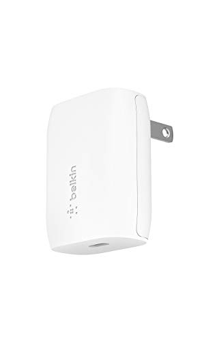 Belkin 充電器 USB-C 20W PD 急速充電 iPhone 12 / 11 / SE/iPad/Androidスマホ各種対応 BOOST↑CHARGE WCA003dqWH-A
