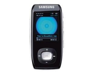 Samsung YP T9J BAB - Lettore MP3 portatile, 4 GB, con sintonizzatore FM e Bluetooth, colore: Nero