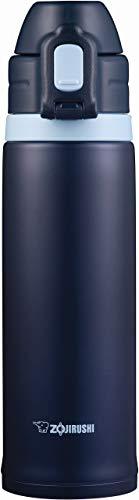 象印 (ZOJIRUSHI) 水筒 直飲み スポーツタイプ ステンレスクール ストローボトル 0.52L ネイビー SD-CS50-AD