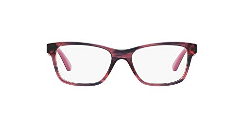 Vogue 0Vo2787 Monture de Lunettes, Noir (Striped Black Cherry), 51 Femme