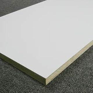 ホワイトポリランバー(3枚セット) WH-PL15-450-1800-3S 1面木口テープ貼り 15mm厚×450×1830 27kg