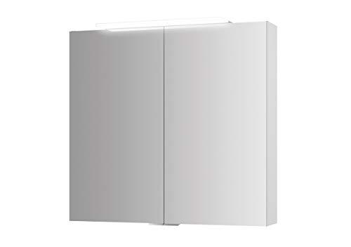 Jokey Spiegelkast Lightblade MDF-hout in de kleur wit met verlichting