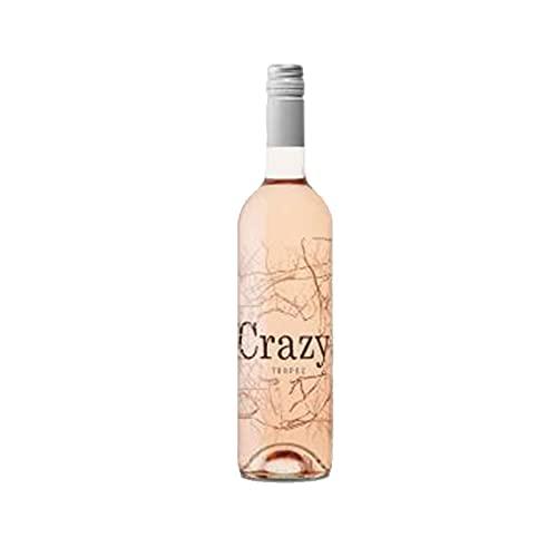 Vino Rosado Crazy Tropez Rose Vin de Pays de 75 cl - D.O. Cotes de Provence - Qantima Group (Pack de 1 botella)