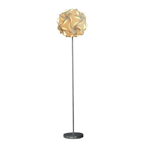 Lámpara de Pie Interior Lámpara de pie creativa del estilo de la sala de estar del dormitorio de la lámpara de pie del dormitorio de la lectura del lado chino LED para Hogar, Salón y Dormitorio