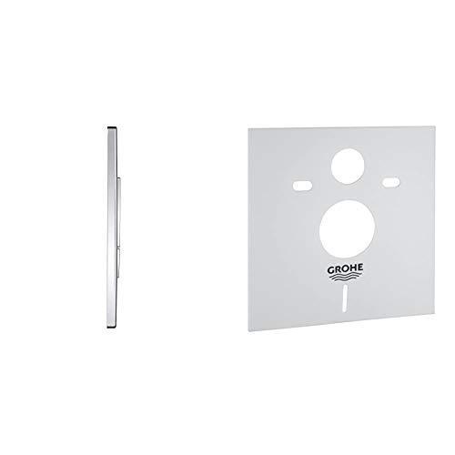 Grohe Skate CosmopolitanPulsador WC (Ref.38732000) +Amortiguador De Ruido para WC (Ref. 37131000)