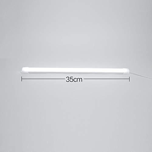 LZDD Lámpara de Sala de Estar de Dormitorio Luz Flexible PC Protect USB Luz Natural La Vista Bajo Luces del gabinete 5V 5W Blanco Caliente Blanco frío Dormitorio Cocina Armario