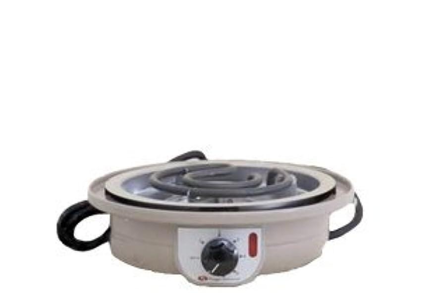 一瞬トランスペアレントリズムコンロ ファンジン 電気コンロ よもぎ蒸し 温度調節機能付き