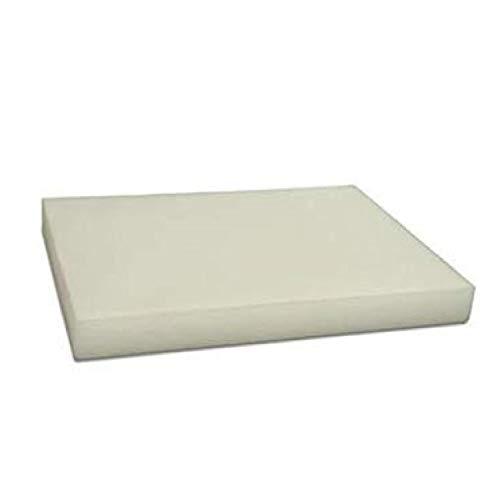 Uzman-Versand Schneidbrett (Weiß) für Gastronomie. Küchenbrett Arbeitsplatte Käsebrett Pizzabrett Schneidbretter Brot, Pizza Brett PP PE
