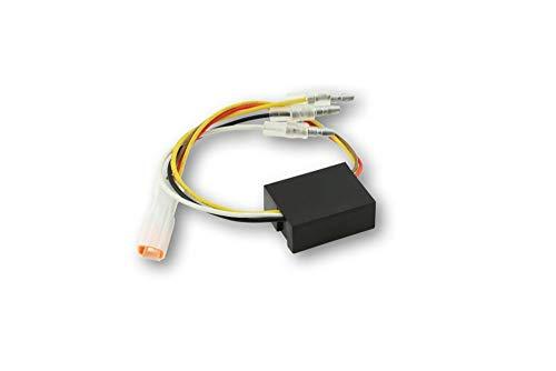 Highsider 204-304B2 Ersatz-Elektronikbox 2 für LED Blinker-Positionsleuchte Blaze, mit JST-Stecker weiß, Stück