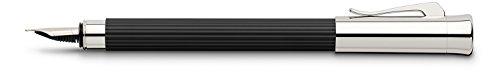 Graf von Faber-Castell 141500 Füllfederhalter Initio, Feder M, schwarz