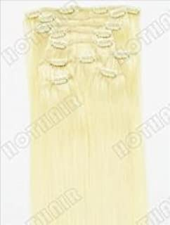 10 Pieces Professional & Envious 160 Grams Remy Clip in Human Hair Extensions 19