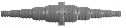 Airfit GmbH & Co. KG Schlauchkupplung beidseitig für Schlauch von Ø 8 bis 25 mm - KS-grau