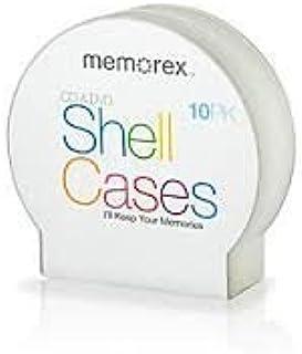 40pcs Memorex® CD Shell Jewel Cases, Pack of 10 X 4 Pack