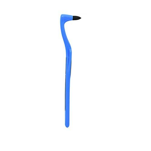Removedor de sarro profesional de limpieza de dientes, quitamanchas dentales, pulidor de blanqueamiento dental, borrador de manchas de dientes, azul 1 pieza