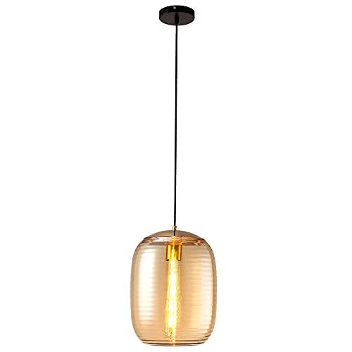 SDUYTEG Iluminación Colgante Simple y Moderna para Isla de Cocina Arte Creativo Junto a la Cama pequeña araña Techo Ajustable Barra de Barra Colgante lámparas decoración