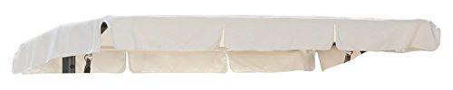 greemotion 120955 Dachbezug Hollywoodschaukel Toulouse, 189,5 x 117 x 1,5 cm, sand