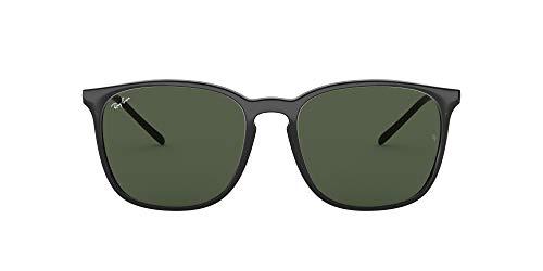 RAY-BAN 0RB4387 Gafas de sol, Black, 55 para Hombre