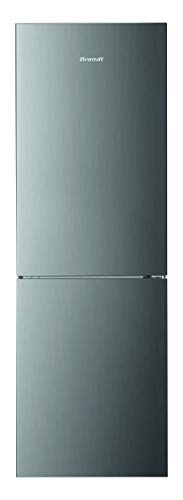 Brandt BFC8610NX - Frigorífico combinado - Puerta reversible - Capacidad del frigorífico 225L - Capacidad del congelador 95L - Clase energética A+ [Clase energética A+]