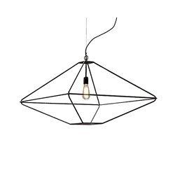 Opinion Ciatti - avec Tradition Lampe à suspension Grande - Noir