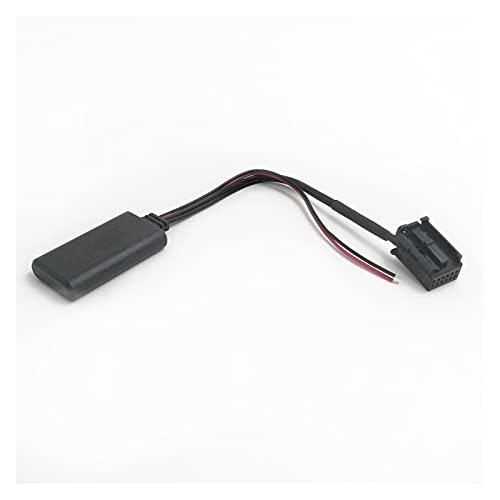 Impetuous Coche 6000 CD Piezas de Audio Bluetooth 5.0 Cable AUX 600 0cd Adaptador de Audio FIT FOR Ford Mondeo Mk3 Foco 2 mk2 (Color Name : Bluetooth 12pin)