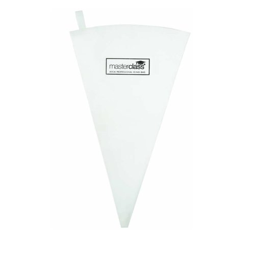 Master Class Wiederverwendbarer Spritzbeutel, Stoff, Weiß, 20 x 26.5 x 0.1 cm