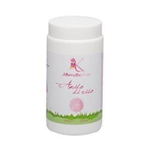ALKEMILLA - Amido di Riso - Alternativa ai Detergenti per il Bagnetto - Con Malva e Camomilla - Formula Naturale al 100% - Rinfrescante, Addolcente, Lenitivo - 150 g