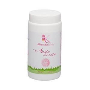 ALKEMILLA - Rice Starch - Alternative to Bath Cleanser - With Malva and Chamomile - 100% Natural Formula - Refreshing & Softening - 150 g