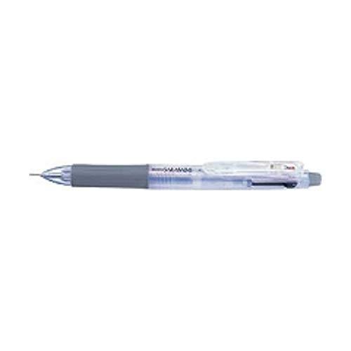 多色ジェルボールペン サラサ2+S [黒/赤+シャープペンシル] 0.5mm 白 SJ2-W