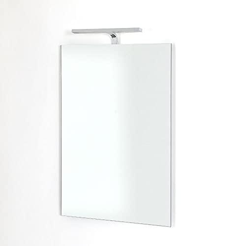 Espejo Milano Darent 700 x 500mm 5W LED Baño con Sensor de Movimiento y Dispositivo Anti-condensación - IP44 Resistente al Agua