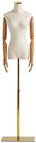 Tailors Dummy jurk vormen Accessoires Tailor Torso Mannequin Bust Mode Show Model Bruidsjurk Ontwerper Kleding mannequin volledige lichaam