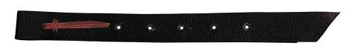 Weaver Leather Nylon Off Billet, 1 3/4 x 39-Inch, Black